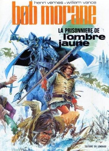 Couverture de Bob Morane 3 (Lombard) -14- La prisonnière de l'Ombre Jaune