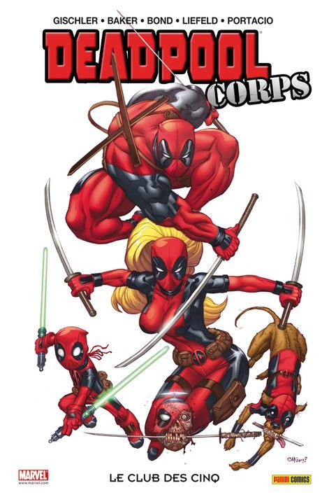Deadpool Corps (100% Marvel) (tome 0) sur Bookys