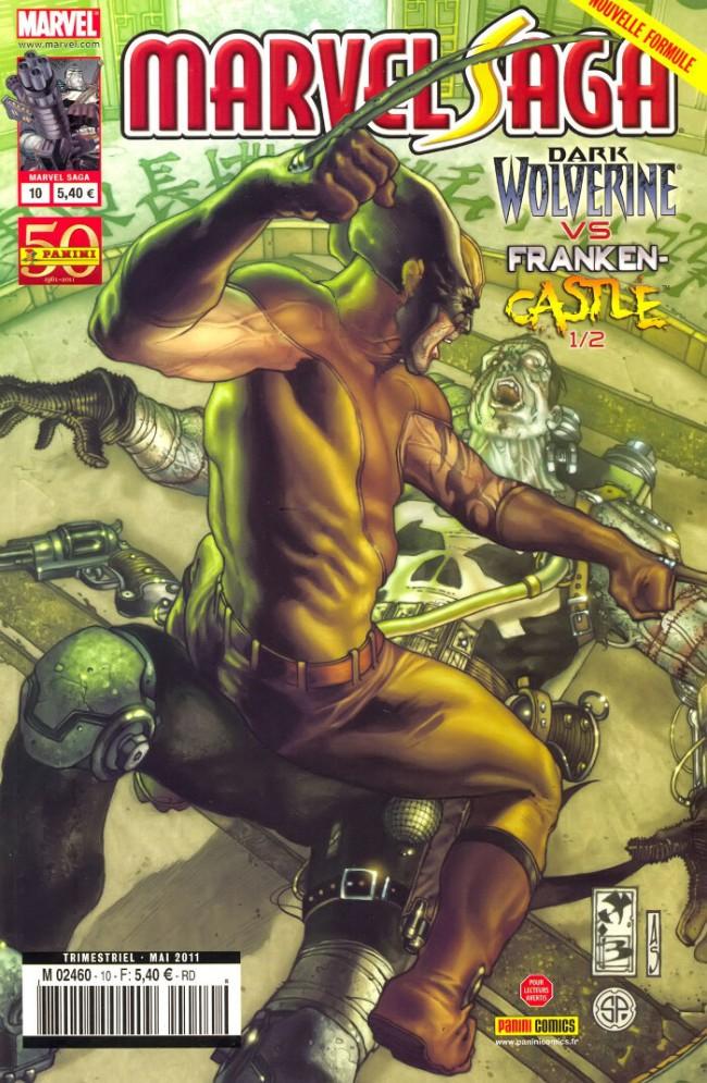 Couverture de Marvel Saga (1re série - 2009) -10- Punition
