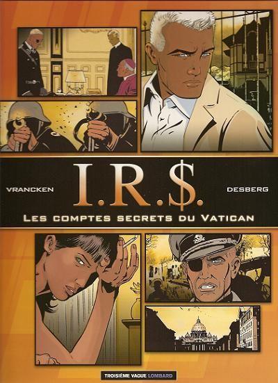 Couverture de I.R.$. -F5- Les comptes secrets du vatican