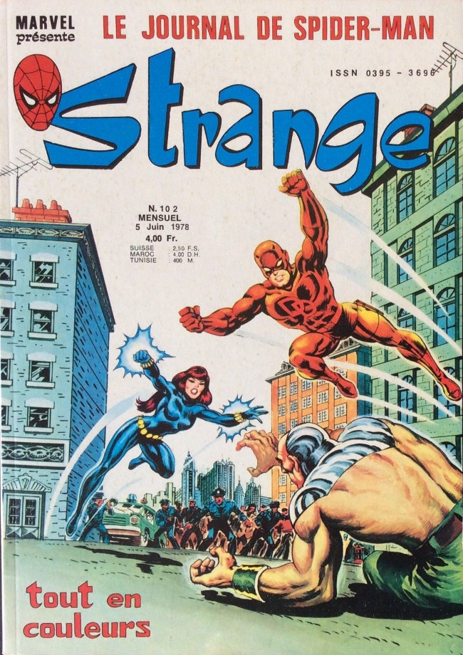 Couverture de Strange -102- Strange 102