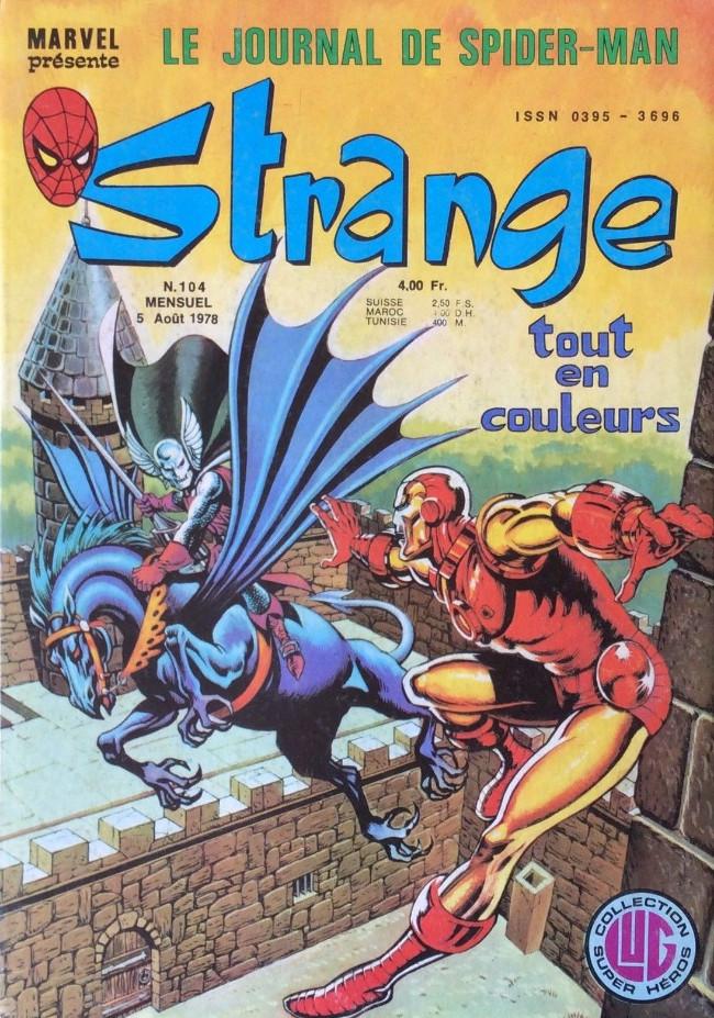 Couverture de Strange -104- Strange 104
