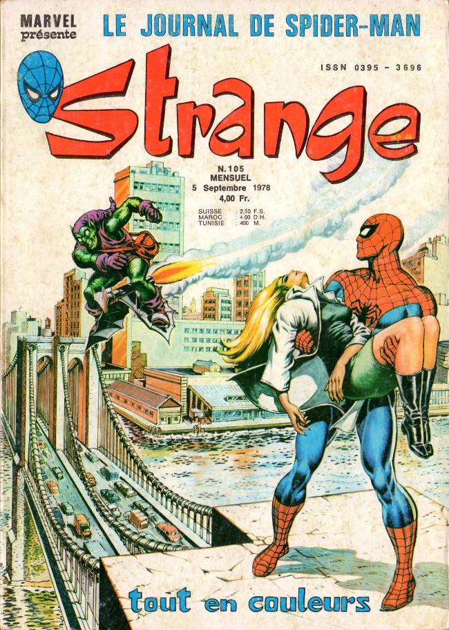 Couverture de Strange -105- Strange 105