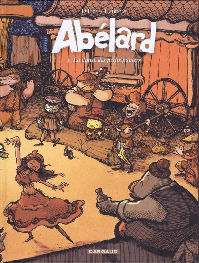Couverture de Abélard -1- La danse des petits papiers