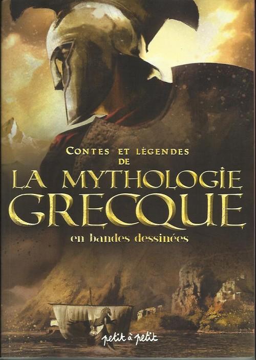 Couverture de Contes et Légendes (chez Petit à petit) - Contes et légendes de la mythologie grecque en bandes dessinées