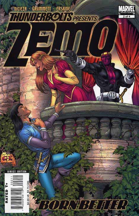 Couverture de Thunderbolts Presents: Zemo - Born Better (2007) -2- Better to have loved and lost...?
