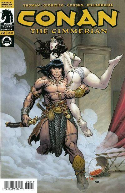 Couverture de Conan the Cimmerian (2008) -2- Mark of the wolf