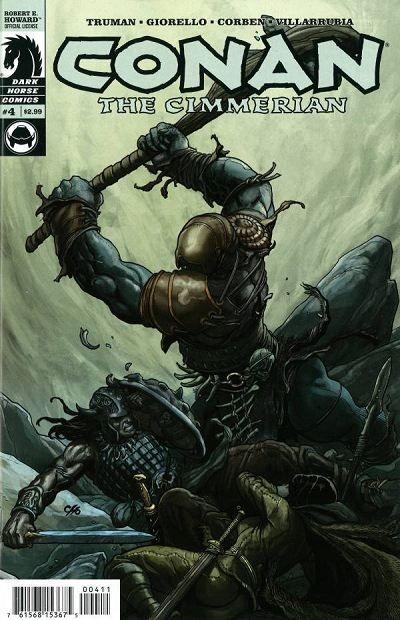 Couverture de Conan the Cimmerian (2008) -4- The skrae