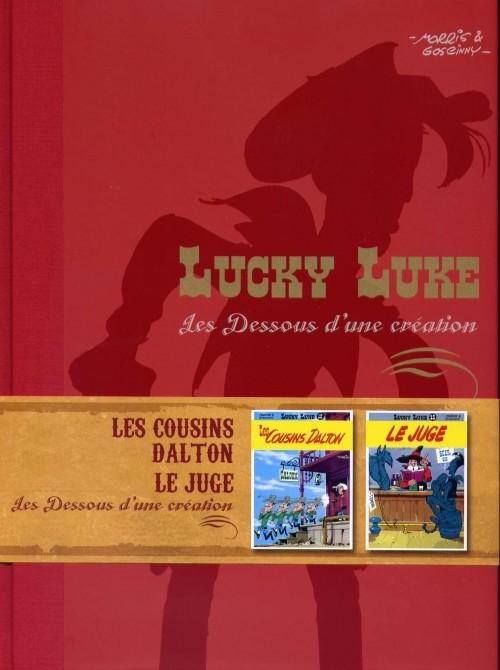 Couverture de Lucky Luke - Les Dessous d'une création (Atlas) -22- Les Cousins Dalton / Le juge