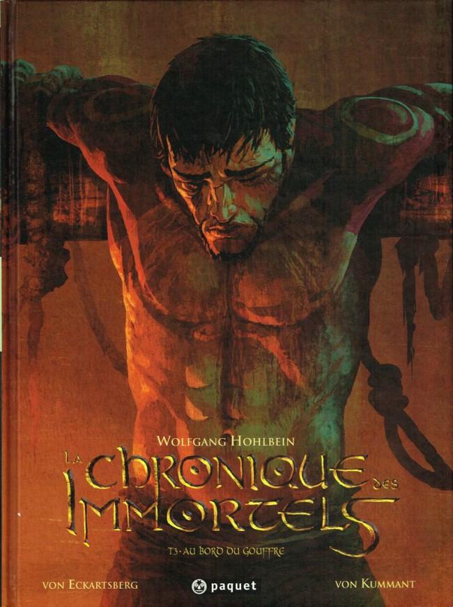 Couverture de La chronique des Immortels -3- Au bord du gouffre 3