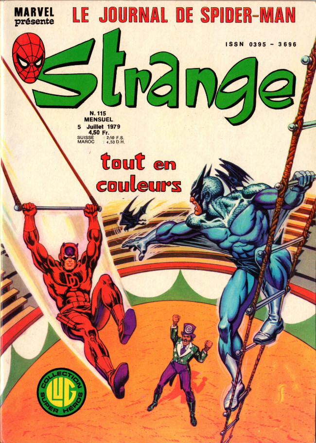 Couverture de Strange -115- Strange 115