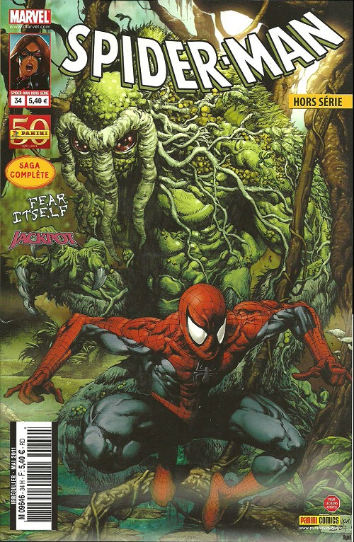 Couverture de Spider-Man Hors Série (Marvel France puis Panini Comics, 1re série) -34- Jackpot