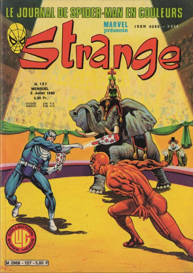 Couverture de Strange -127- Strange 127