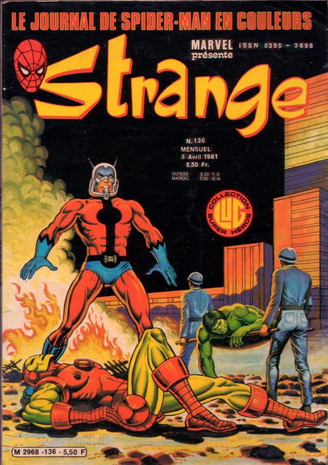 Couverture de Strange -136- Strange 136