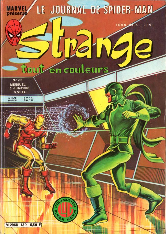 Couverture de Strange -139- Strange 139