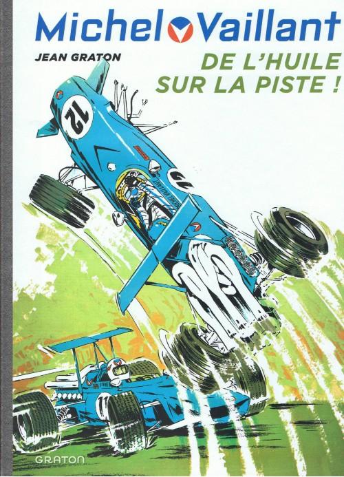 Couverture de Michel Vaillant (Dupuis) -18- De l'huile sur la piste !