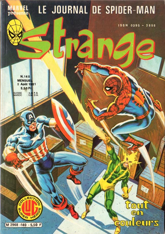 Couverture de Strange -140- Strange 140