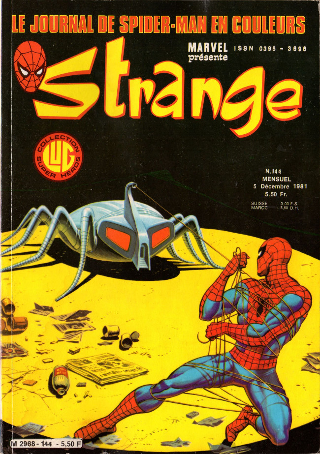 Couverture de Strange -144- Strange 144