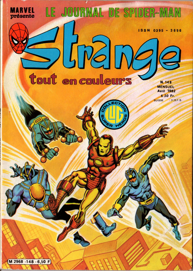 Couverture de Strange -148- Strange 148