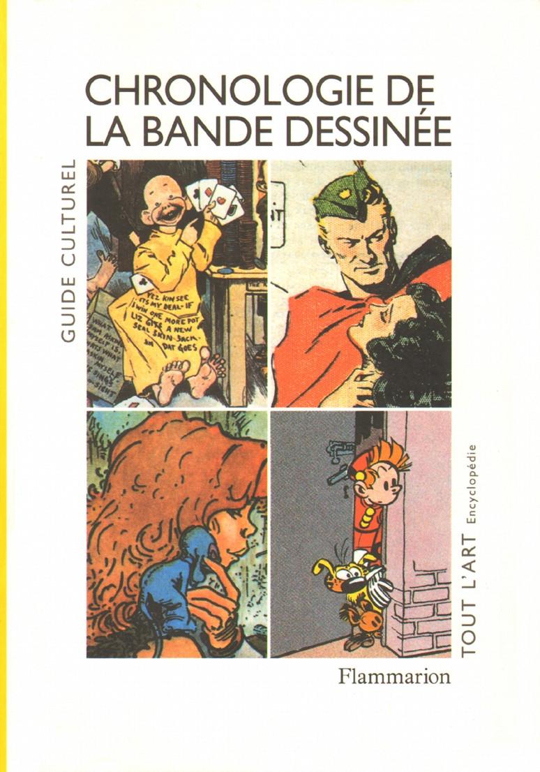 Couverture de (DOC) Études et essais divers - Chronologie de la bande dessinée
