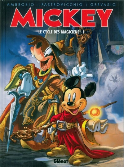 Mickey Le Cycle des Magiciens 5 tomes