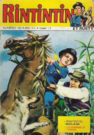 Couverture de Rin Tin Tin & Rusty (2e série) -110- L'étrange enlèvement