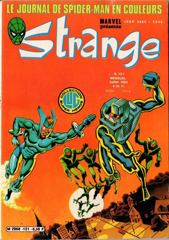 Couverture de Strange -151- Strange 151