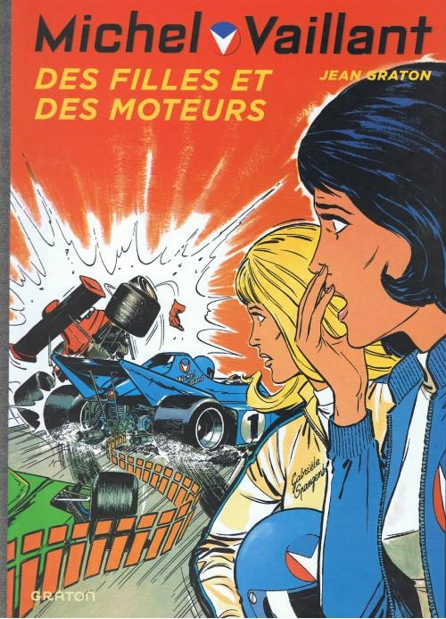 Couverture de Michel Vaillant (Dupuis) -25- Des filles et des moteurs