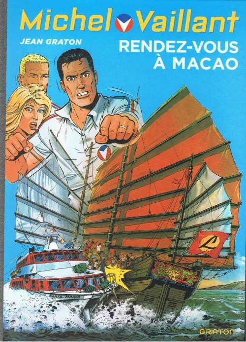Couverture de Michel Vaillant (Dupuis) -43- Rendez-vous à Macao
