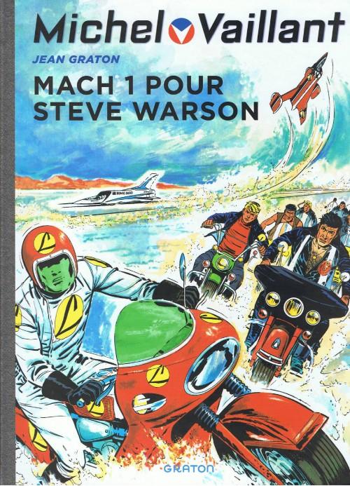 Couverture de Michel Vaillant (Dupuis) -14- Mach 1 pour Steve Warson