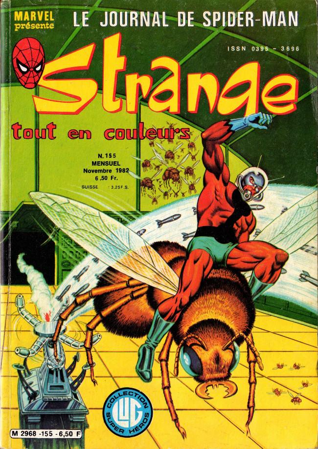 Couverture de Strange -155- Strange 155