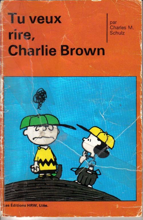 Couverture de Peanuts -8- (HRW) -2- Tu veux rire, Charlie Brown