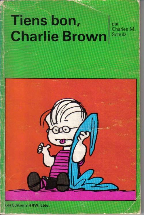 Couverture de Peanuts -8- (HRW) -5- Tiens bon, Charlie Brown