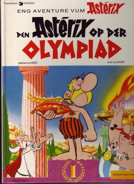 Couverture de Astérix (en langues étrangères) -12Lux- Den Astérix op der olympiad