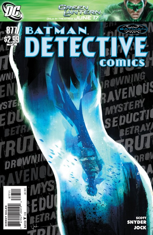 Couverture de Detective Comics (1937) -877- Hungry city (Part 2)