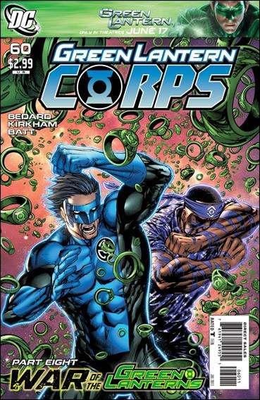 Couverture de Green Lantern Corps (2006) -60- War of the green lanterns part 8