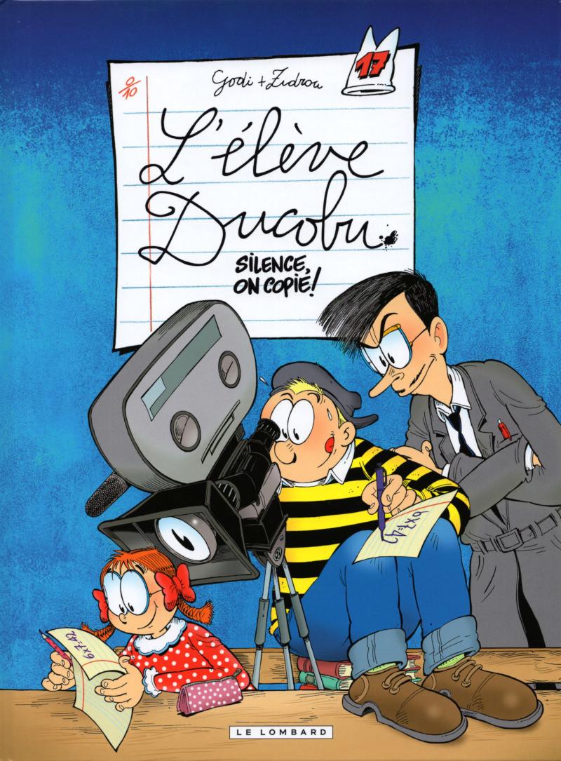 Couverture de L'Élève Ducobu -17- Silence, on copie!