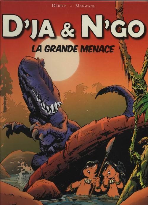 Couverture de D'ja et N'go -1- La grande menace