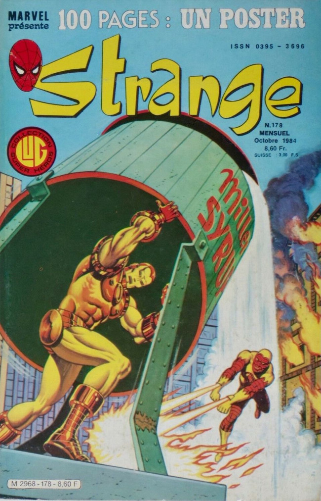 Couverture de Strange -178- Strange 178