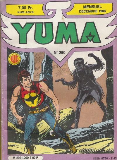 Couverture de Yuma (1re série) -290- Skull le mutant
