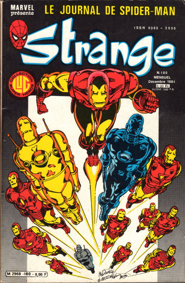 Couverture de Strange -180- Strange 180