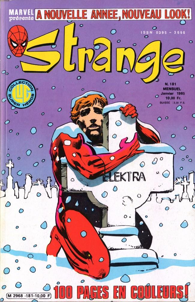 Couverture de Strange -181- Strange 181