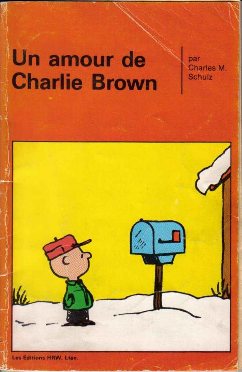 Couverture de Peanuts -8- (HRW) -4- Un amour de Charlie Brown
