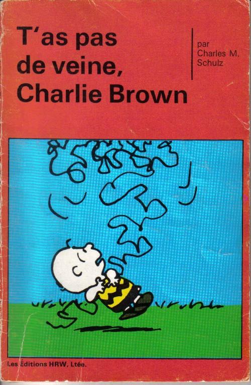 Couverture de Peanuts -8- (HRW) -11- T'as pas de veine, Charlie Brown