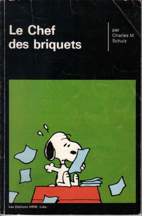 Couverture de Peanuts -8- (HRW) -15- Le chef des briquets