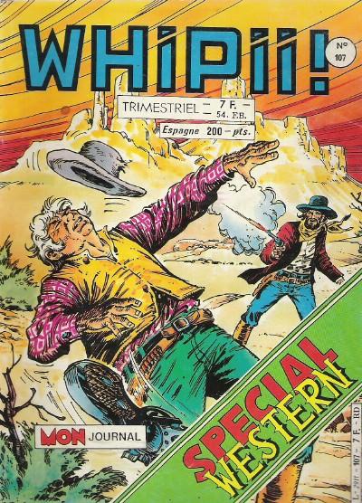 Couverture de Whipii ! (Panter Black, Whipee ! puis) -107- Une poignée de cailloux
