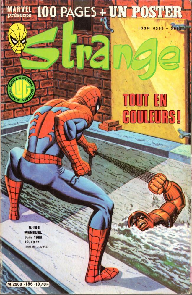 Couverture de Strange -186- Strange 186