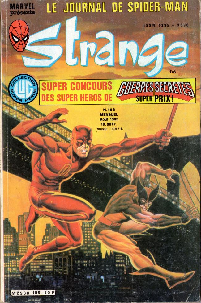 Couverture de Strange -188- Strange 188