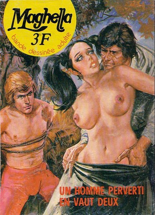 Couverture de Maghella -18- Un homme perverti en vaut deux