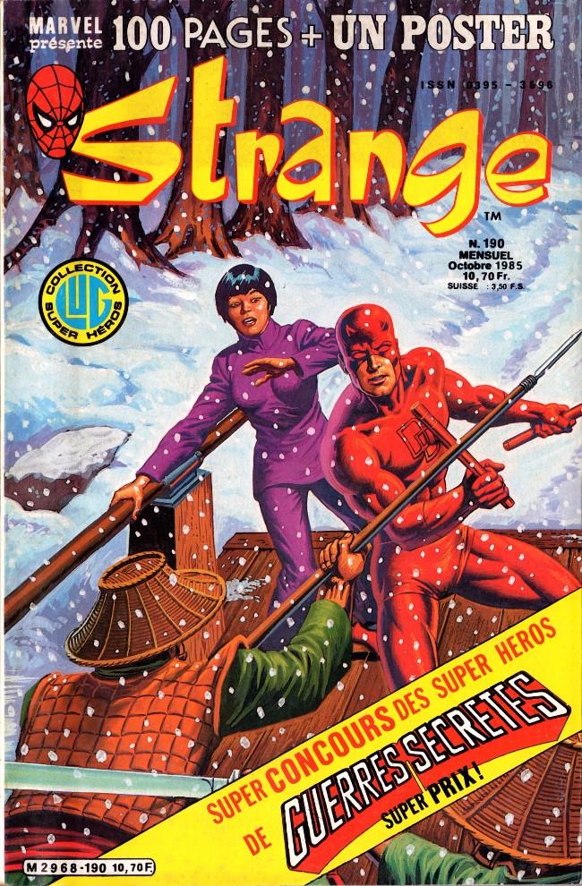 Couverture de Strange -190- Strange 190